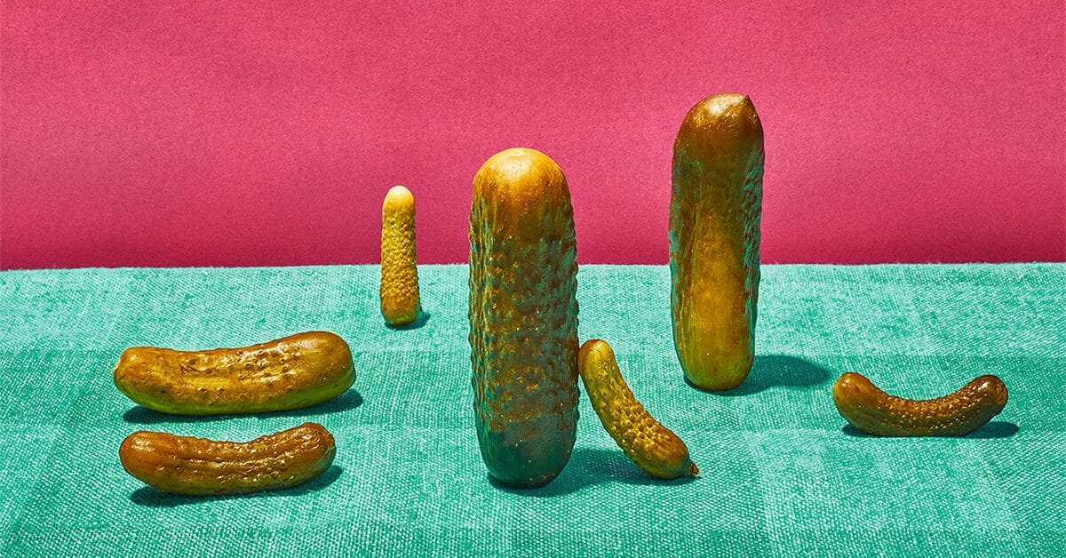 Pickle Sizes